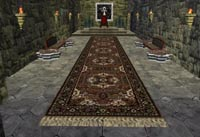 LB's empty throne room